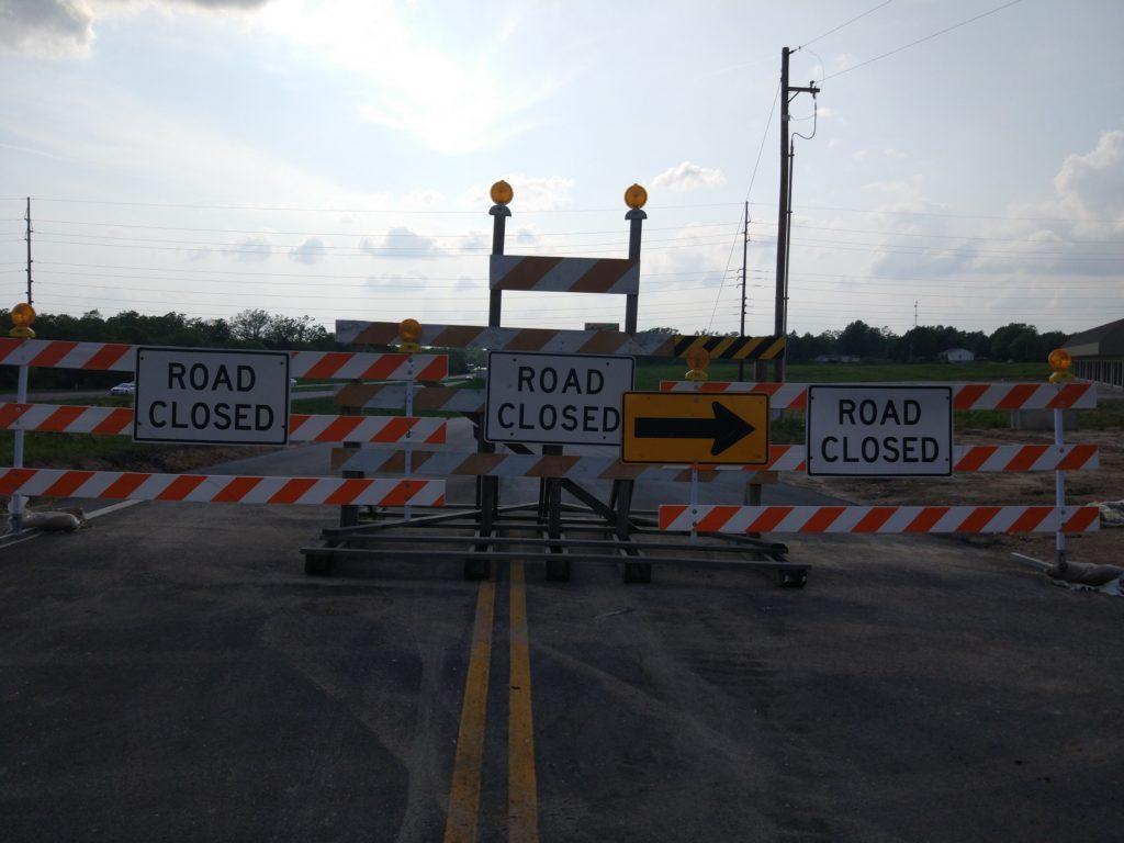 Carretera cortada Ruta 66