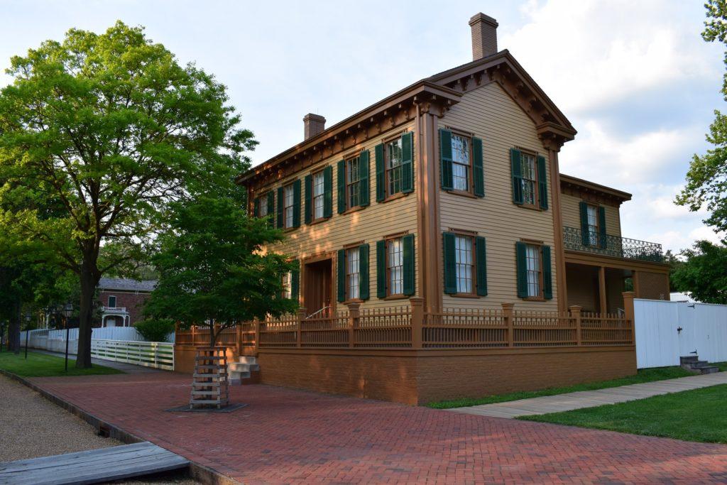 Casa de Lincoln en Springfield