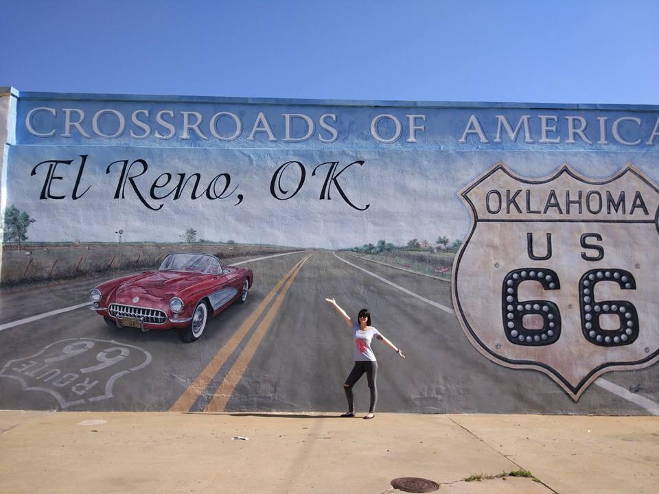 Murales de El Reno Ruta 66