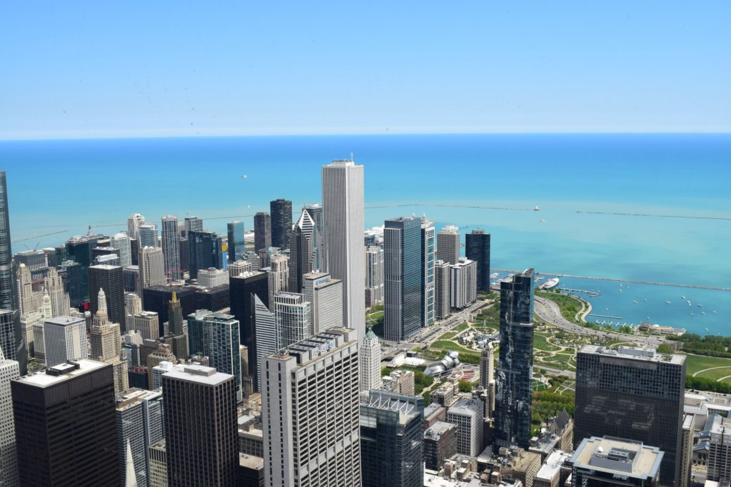 Vistas del Skydeck en Chicago