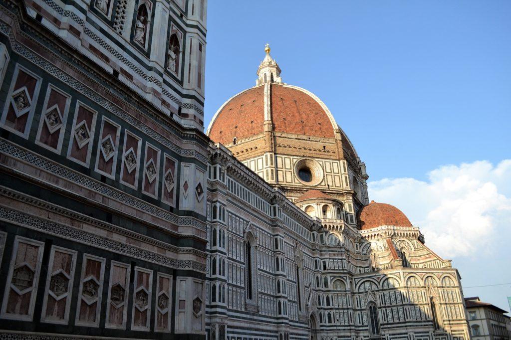 Subir a la cúpula de la catedral de Florencia