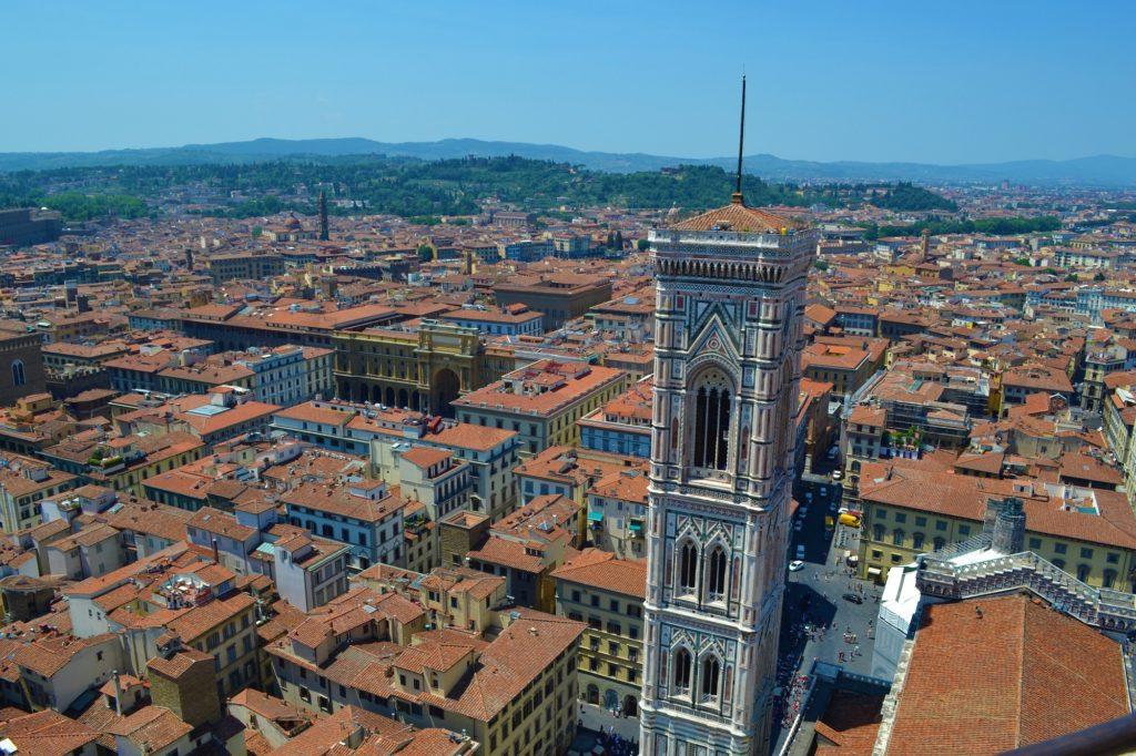 Subir a la catedral de Florencia