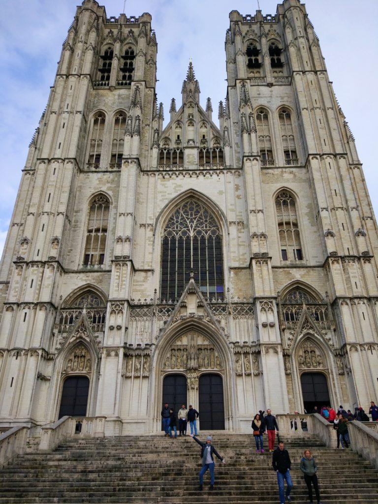 visitar catedral bruselas
