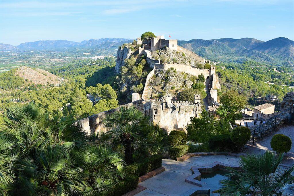 visita castillo xativa