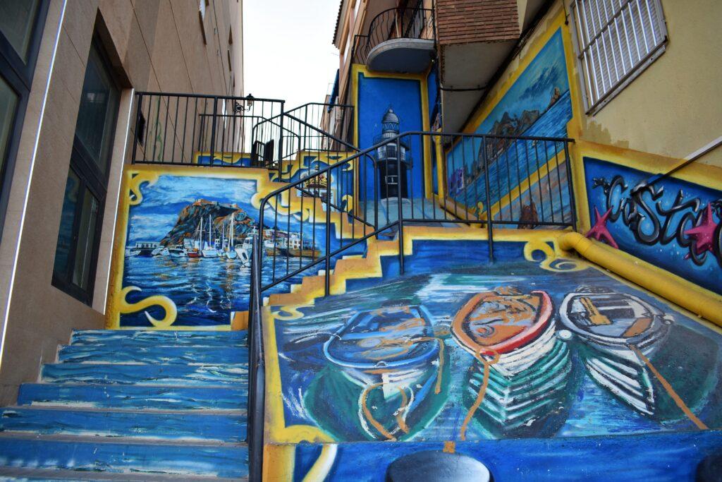 street art aguilas