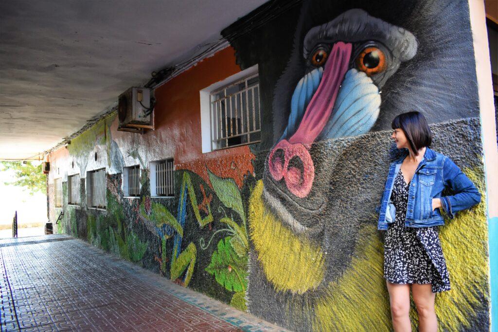 arte callejero aguilas